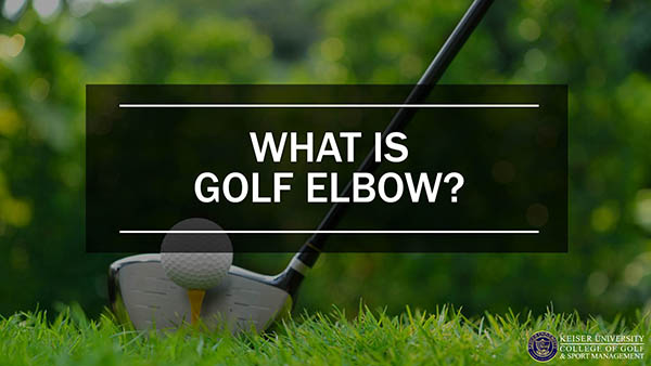 What Is Golf Elbow