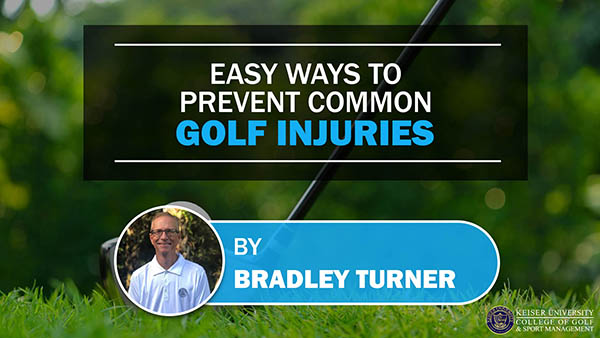 Easy Ways to Prevent Common Golf Injuries