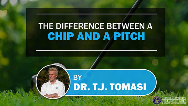 The Difference Between a Chip and a Pitch