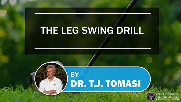The Leg Swing Drill