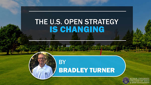 The US Open Strategy is Changing