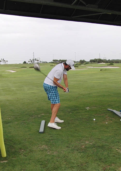 Complete Golf Swing Requires Selective Then Global Tension