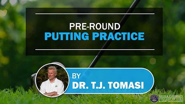 Pre-Round Putting Practice