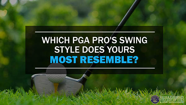 Which PGA Pro's Swing Style Does Yours Most Resemble