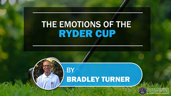 the emotions of the ryder cup